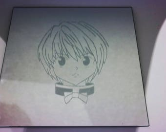 Hunter x Hunter - Kurapika etched mirror