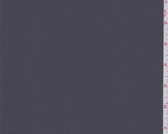 Granite Grey Polyester Georgette, Fabric By The Yard