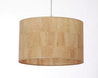 Lampshade D.40 cm, cork
