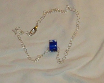 Cane Glass Chainmaille Necklace