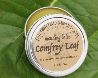 Comfrey Leaf mending balm - repairing skin salve