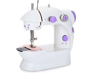 Small Sewing Machine, Sewing Machine, Portable Sewing Machine, Mini Sewing Machine, Automatic Sewing Machine, Sewing Supply, Electric Sewing
