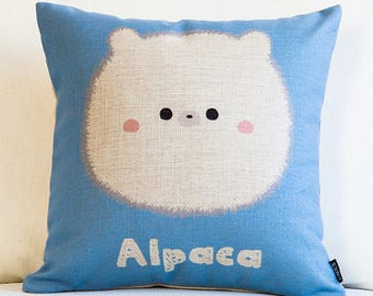 RubeyLiza - Alpaca - Alpaca Filled Linen Cushions 45 x 45 cm.  7  Designs
