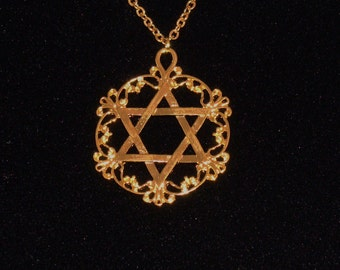 Filigree Star of David