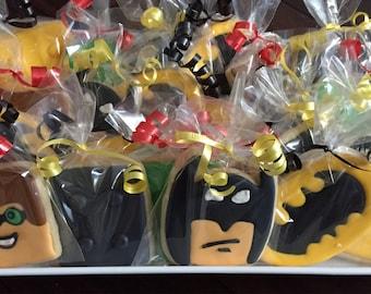 Lego Cookies - Superheros - Batman and Robin