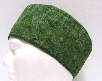 Mens/Womans Scrub Cap, Surgical Cap, Chemo Hat in Shades of Green