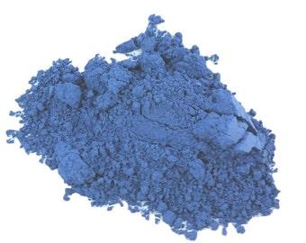 Cornflower  Matte Blue Periwinkle  Natural organic Makeup Eyeshadow  loose  Eye Shadow   Mineral Makeup Vegan Natural Peekaboo