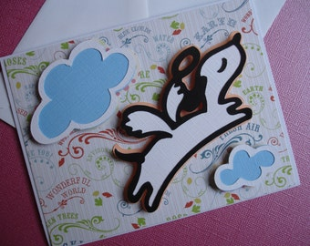 Angel Pup - Blank Card
