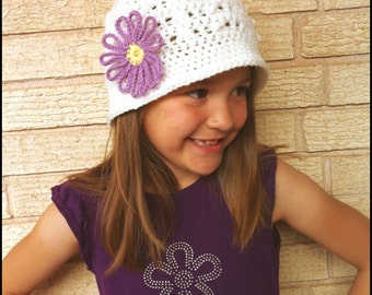Callie Cloche - PDF Crochet Pattern - Instant Download