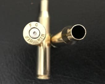 Reloading Brass, .270 Shell Casings (100) ct. cleaned and polished