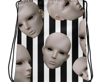 Disassociated Drawstring bag