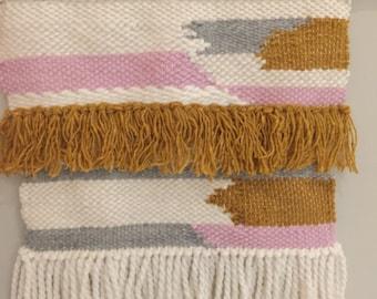 Tissage mural - weaving