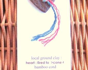 Local clay pendants