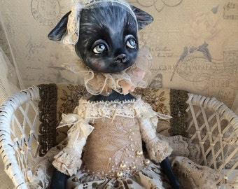 Poupée chat Mirra