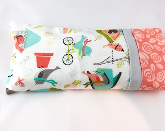 Eye Pillow With Removable Case and Choice of Blend - Eye Pillow for Sleep, Yoga, Meditation, Relaxation, Aromatherapy