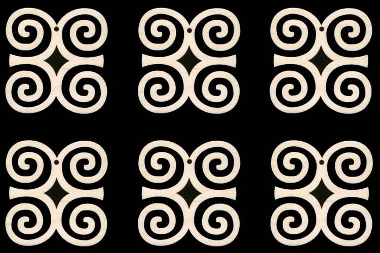 Dwennimmen African Adinkra Symbol For Strength And Humility