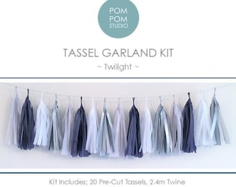 DIY Tassel Garland Kit | Twilight