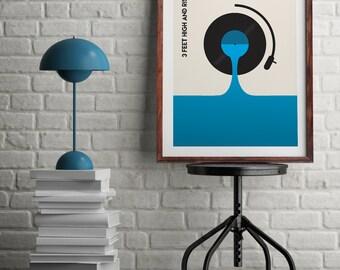 "Original Print of De La Soul's ""3 Feet High and Rising"""