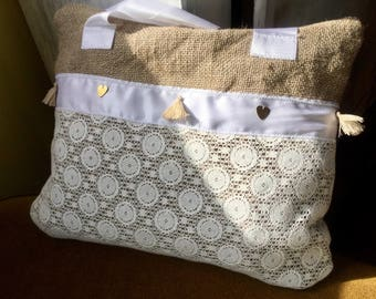 Bag 'Marriage' country Chic & romantic!