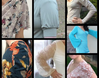 All The Sleeves Add-on Pattern
