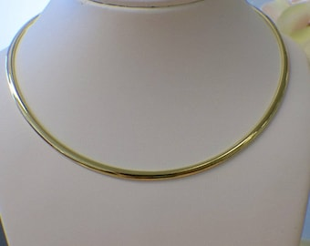 Omega 14K Yellow Gold Chain Necklace