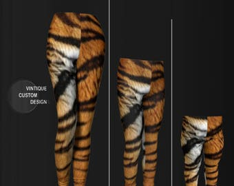 MATCHING TIGER LEGGINGS for Girls and Boys Leggings Tiger Print Leggings Mommy and Me Outfit Girls Leggings Baby Leggings Toddler Leggings