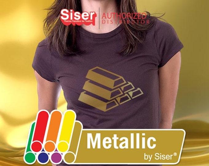 "20""* x 5yd / Siser Easyweed Metallic - Heat Transfer Vinyl - HTV"