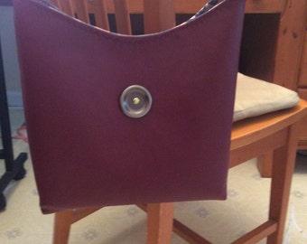 Burgundy Handbag