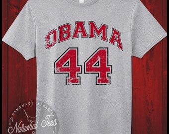 Obama 44 Shirt Barack Obama President T-Shirt Democrat Anti Trump