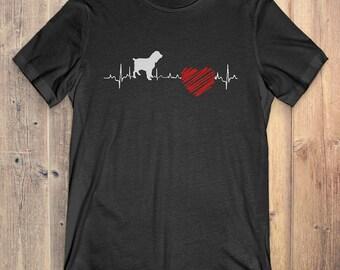 Boykin Spaniel Dog T-Shirt Gift: Boykin Spaniel Heartbeat