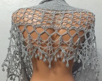 Sprite, Crochet Lace Shawl Pattern PDF