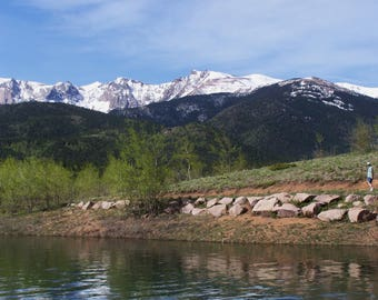 Mountain Photography/ Palmer Lake, Colorado/ Mountains/ Trees