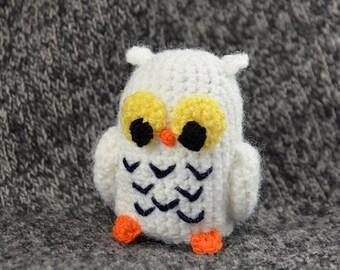 Cute Little Amigurumi Owl : Crochet owl pattern pdf tiny owl amigurumi crochet pattern