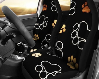 Paws All Over Me Seat Covers for Cat, Dog and all Animal Lovers Everywhere