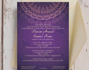 Mehndi Party Invites : Mehndi invitation etsy