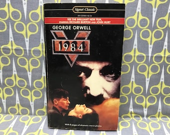 1984 by George Orwell Paperback Book Science Fiction Dystopian Nineteen Eighty-Four