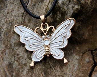gold wife gift jewelry|for|women gold jewelry Woodland jewelry Everyday Jewelry butterfly jewelry butterfly necklace butterfly choker