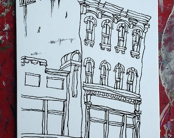 Postcard: Kenmare Street