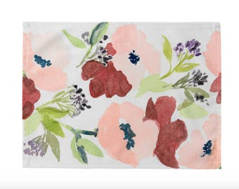 Pink Poppies Placemats Set of 4