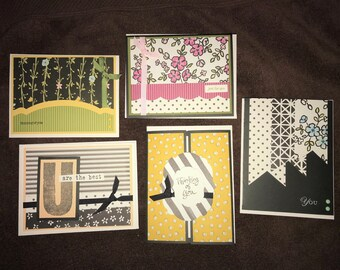 Thinking of You, set of 5 cards