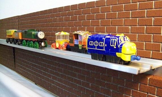 WALL DISPLAY SHELVES for Thomas The Train Chuggington Die