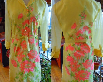 Alfred Shaheen Dress Vintage 1960's