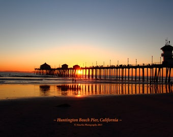 Huntington Beach Pier Sunset #2