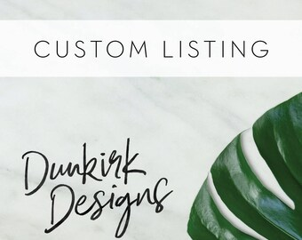 Custom Listing for Chelsea Davis // Digital Table Numbers