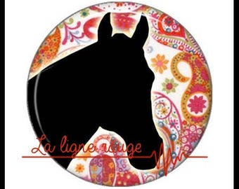 Horse (1133) - Cabochon with or without stand depending on your choice