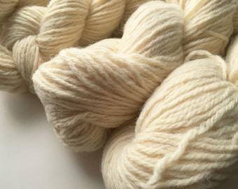 Reclaimed Bulky Yarn - Wool - Cream