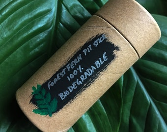 "Plastic Free ""Pit Stick"" Deodorant 100% Biodegradable"