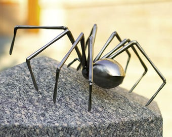 Metal spider (Steel) Spider art sculpture
