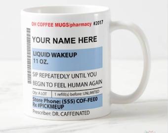 Pharmacy Graduation Gift, Pharmacist Gift, Pharmacy Gift, Pharmacy Mug, Pharmacist Mug, Pharmacy Tech, Pharmacy Student, Prescription Mug