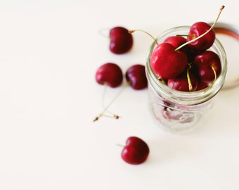 Food and Kitchen Photography - Delicious Cherries - up to 20 x 30